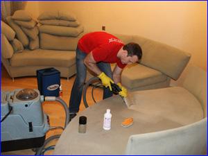 чистка мебели мягкой дома
