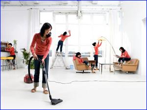 уборка всего помещения