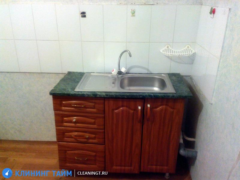 результат чистки кухонной мойки