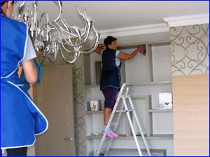 уборка и чистка квартиры от пыли и грязи
