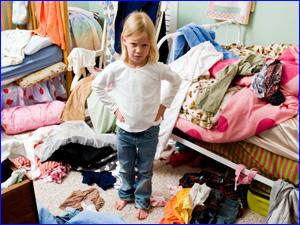 Как заставить ребенка убираться в комнате