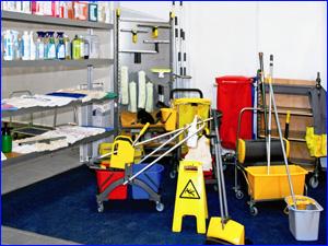 Инвентарь и инструменты для уборки квартиры и других помещений