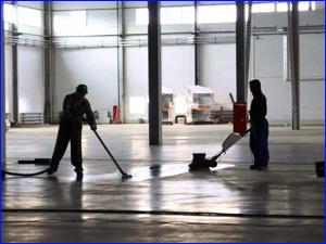 Профессиональная уборка склада, ангара, производственного помещения