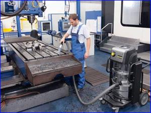 Генеральная уборка рабочего места сотрудника на производственном помещении