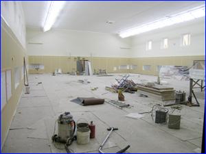 Уборка помещения специалистами клининговой компании