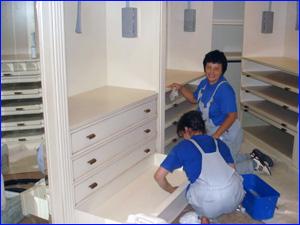 Уборка квартиры сотрудниками клининговой компании