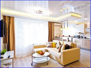 Красивая и чистая квартира после генеральной уборки