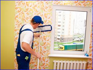 Уход за обоями в квартире от пыли и грязи